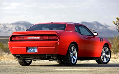 2009 Dodge Challenger R/T wallpaper thumbnail.