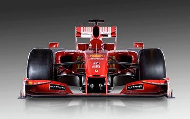 2009 Ferrari F60 wallpaper thumbnail.