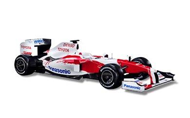 2009 Toyota TF109 wallpaper thumbnail.
