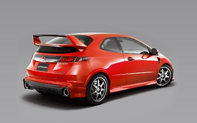 2009 Honda Civic Type R Prototype by Mugen wallpaper thumbnail.