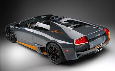 2009 Lamborghini Murcielago LP650-4 Roadster wallpaper thumbnail.