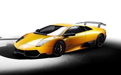 2009 Lamborghini Murcielago LP670-4 Super Veloce wallpaper thumbnail.