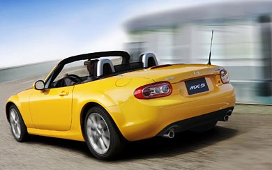 2009 Mazda MX-5 wallpaper thumbnail.