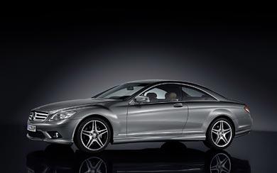 2009 Mercedes-Benz CL Class wallpaper thumbnail.