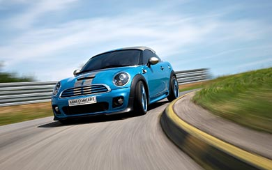 2009 Mini Coupe Concept wallpaper thumbnail.