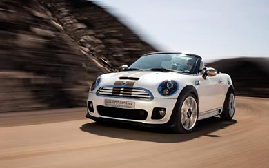 2009 Mini Roadster Concept wallpaper thumbnail.