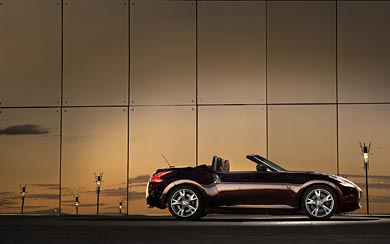 2009 Nissan 370Z Roadster wallpaper thumbnail.
