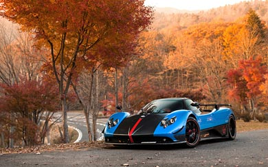 2009 Pagani Zonda Cinque Roadster wallpaper thumbnail.