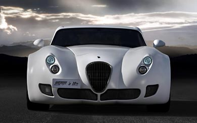 2009 Wiesmann GT MF5 20th Anniversary wallpaper thumbnail.