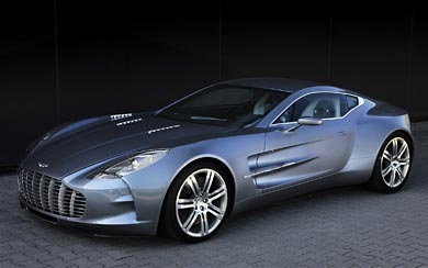 2010 Aston Martin One-77 wallpaper thumbnail.