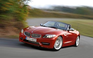 2010 BMW Z4 wallpaper thumbnail.