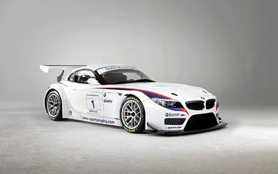 2010 BMW Z4 GT3 wallpaper thumbnail.