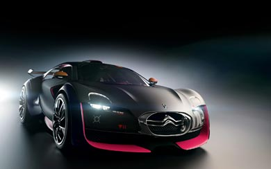2010 Citroen Survolt Concept wallpaper thumbnail.