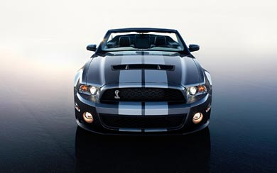 2010 Ford Shelby Mustang GT500 wallpaper thumbnail.