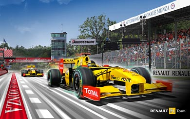 2010 Renault F1 R30 wallpaper thumbnail.