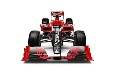 2010 Virgin Racing VR-01 wallpaper thumbnail.