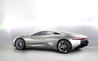 2010 Jaguar C-X75 Concept wallpaper thumbnail.