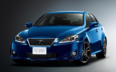 2010 Lexus IS 250 F Sport wallpaper thumbnail.