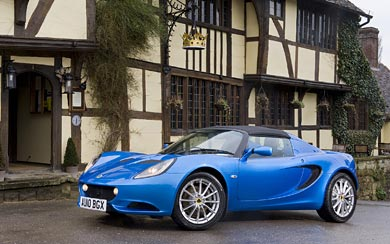 2010 Lotus Elise wallpaper thumbnail.