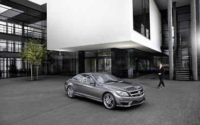 2010 Mercedes-Benz CL 63 AMG wallpaper thumbnail.