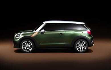 2010 Mini Paceman Concept wallpaper thumbnail.