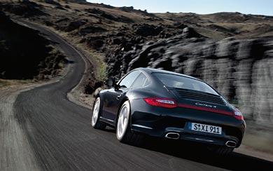 2010 Porsche 911 Carrera 4 wallpaper thumbnail.