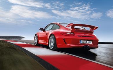 2010 Porsche 911 GT3 wallpaper thumbnail.