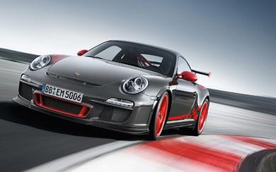 2010 Porsche 911 GT3 RS wallpaper thumbnail.