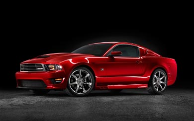 2010 Saleen Mustang S281 wallpaper thumbnail.