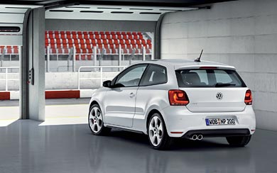 2010 Volkswagen Polo GTI wallpaper thumbnail.
