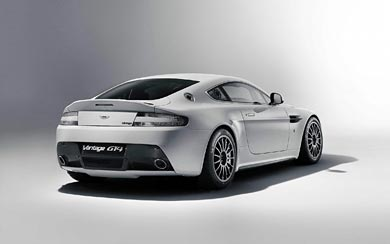 2011 Aston Martin Vantage GT4 wallpaper thumbnail.