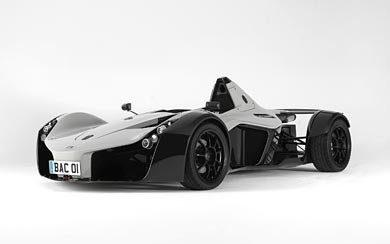 2011 BAC Mono wallpaper thumbnail.