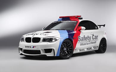 2011 BMW 1-Series M Coupe MotoGP Safety Car wallpaper thumbnail.