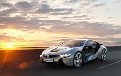 2011 BMW i8 Concept wallpaper thumbnail.