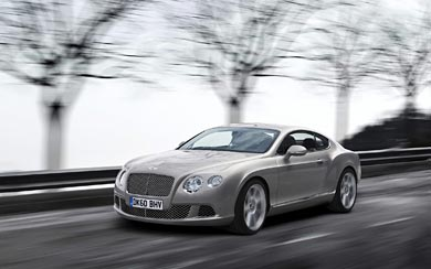 2011 Bentley Continental GT wallpaper thumbnail.