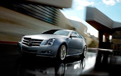 2011 Cadillac CTS Coupe wallpaper thumbnail.