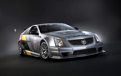 2011 Cadillac CTS-V Coupe Racecar wallpaper thumbnail.