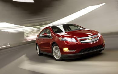 2011 Chevrolet Volt wallpaper thumbnail.