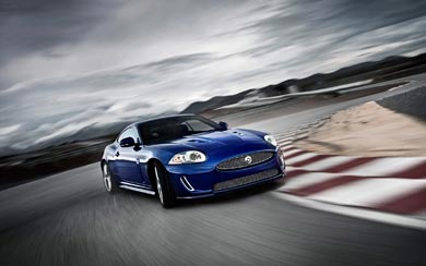 2011 Jaguar XKR Special Edition wallpaper thumbnail.