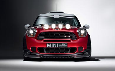 2011 Mini WRC wallpaper thumbnail.