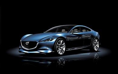 2011 Mazda Shinari Concept wallpaper thumbnail.
