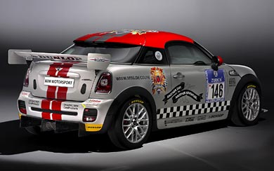 2011 Mini Coupe Endurance wallpaper thumbnail.
