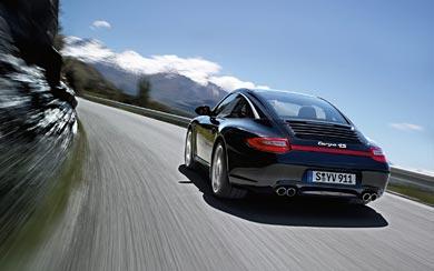 2011 Porsche 911 Targa 4S wallpaper thumbnail.