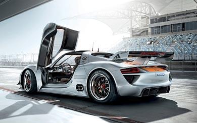 2011 Porsche 918 RSR Concept wallpaper thumbnail.