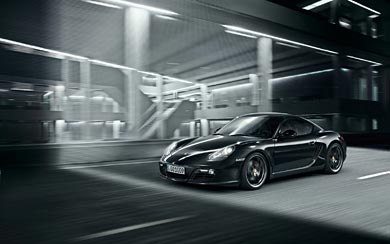 2011 Porsche Cayman S Black Edition wallpaper thumbnail.