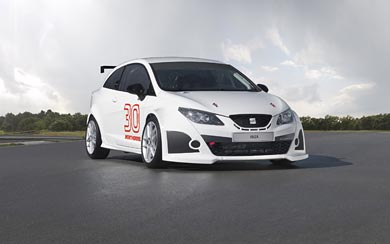 2011 Seat Ibiza SC Trophy wallpaper thumbnail.