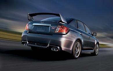 2011 Subaru Impreza WRX STI wallpaper thumbnail.