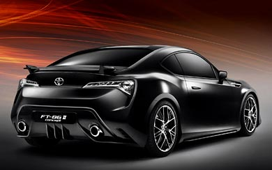 2011 Toyota FT-86 II Concept wallpaper thumbnail.