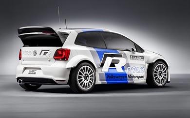 2011 Volkswagen Polo WRC Concept wallpaper thumbnail.