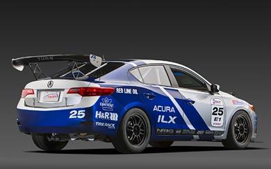 2012 Acura ILX Endurance Racer wallpaper thumbnail.